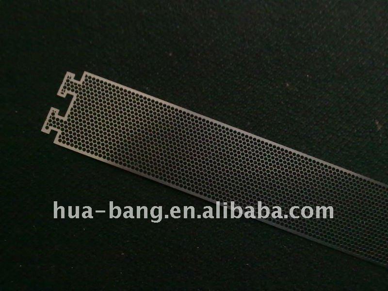 metal mesh of etching