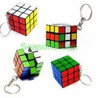 Неокубы, Кубики-Рубика Retail Cute Mini 3X3X3 Plastic Magic Cube Toys Keychain