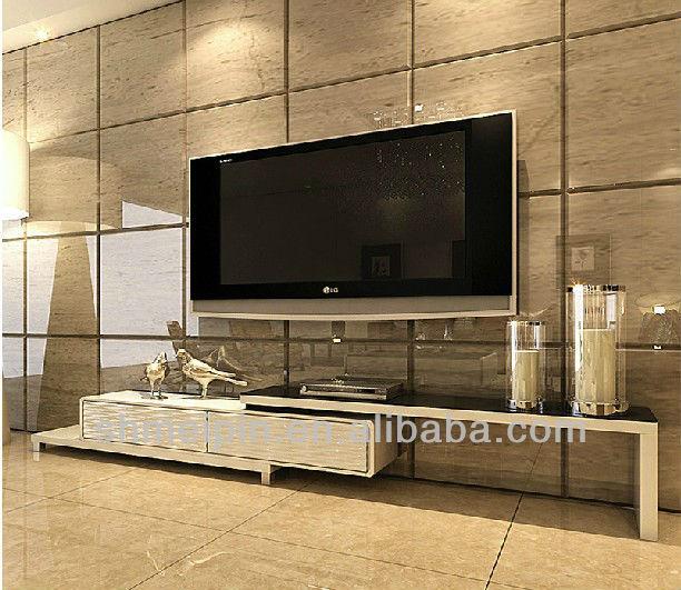 Modern design modern tv rack lcd tv rack tv stand living for Lcd cabinets designs in living room
