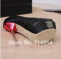 Туфли на высоком каблуке Shippijng Toe , 34/39 4003