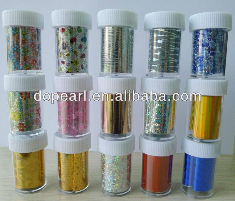2014 hot sell nail transfer foil diy nail art stickers