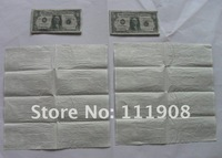 Туалетная бумага EMS, Eco-friendly USD napkin paper handkerchief, Dollar facial tissue Olympic Games tissue for restaurant paper towel