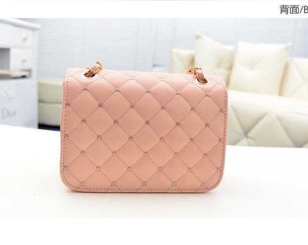 BUENO New 2014 Hot Fashion Chain Shoulder Bag Plaid Women Handbag