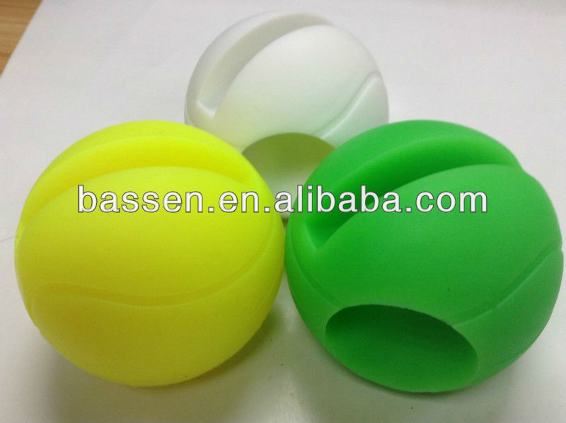 2013 silicone tennis ball for iphone portable speaker