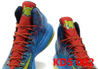 EMS Free Shipping Kevin Durant KD V 5 Christmas DMV Mens Basketball Shoe basketball sports shoes 2012 athletic shoes sneakers