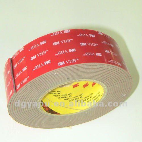 R sistant la chaleur haute adh sif double face 3 m vhb - Adhesif resistant chaleur ...