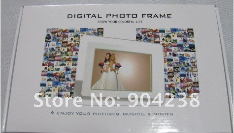 wholesale    LCD Digital Photo Picture Frame  mp3 player  2pc/lot
