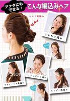 2012 newest product ,10pcs/lot girls hairpin, beautiful headwear and fashion hair accessories Braid Maintenance,FREE shipping