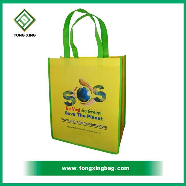 Hot Eco Colorful Non Woven Shopping Bag