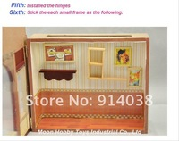 Кукольный дом! Akama Exquisite 3D DIY Doll House ZAIYS|Educational Toys Wooden Home Decorative|Creative Birthday Gifts