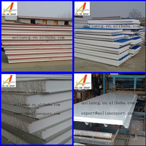 polyurethane sandwich panel for wall and roof