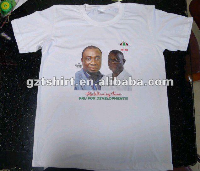 Cotton print election tshirt