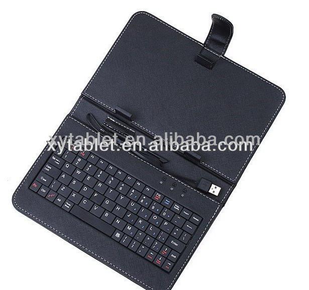 USB Interface tablet case kids 7 inch tablet case tablet keyboard case