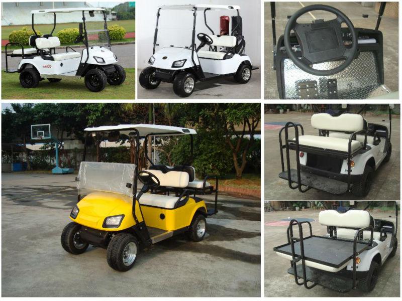 La meilleure qualité 48V3000W Curtis Controller pas cher voiturette de golf à vendre avec siège arrière de TOP usine