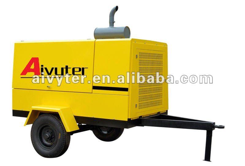 Jack Hammer Used Portable Mining Compressor for Sale