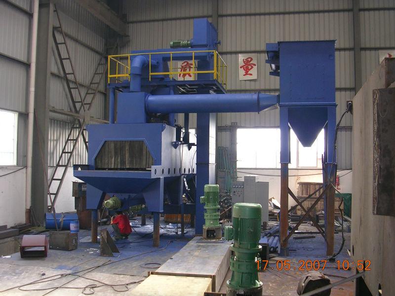 H beam shotblasting machine