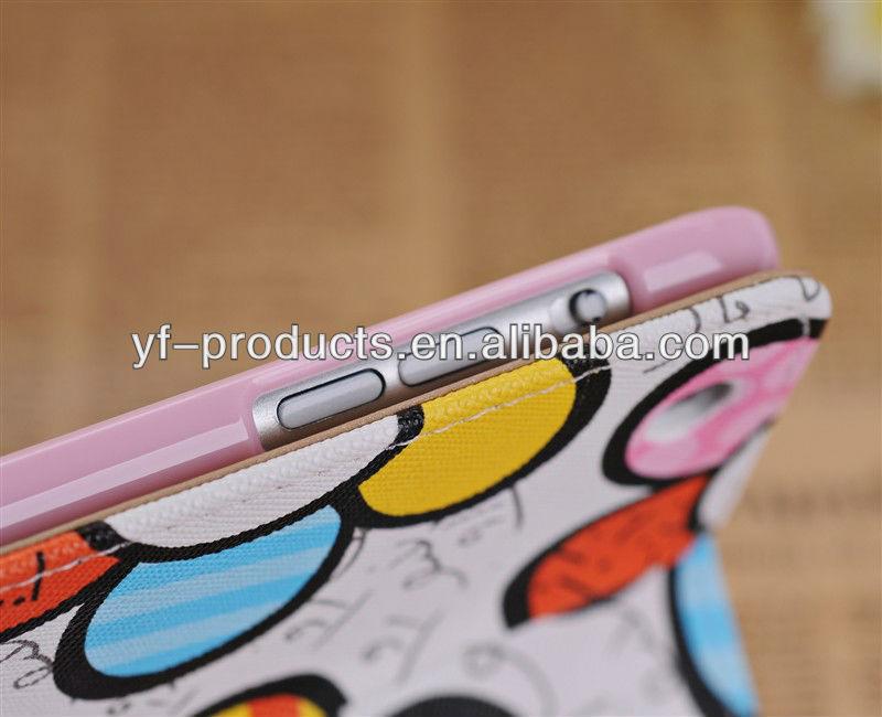 YPAC-IML06 Colorful Sunflower Cute PU Case For iPad Mini