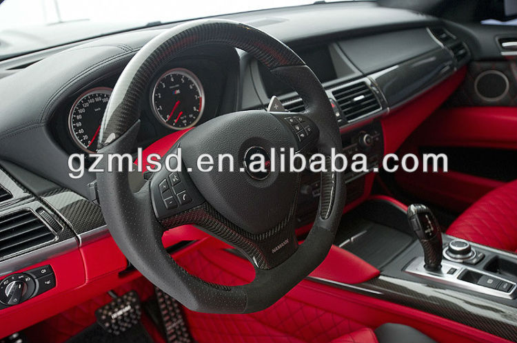 colorful car carbon interior / trim
