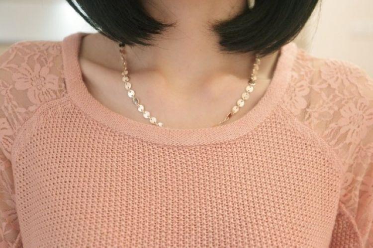 Пуловер С Кружевом С Доставкой
