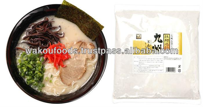 Kyusyu pork ramen soup (AD-476) local brands for Japanese Tonkotsu style 1kg
