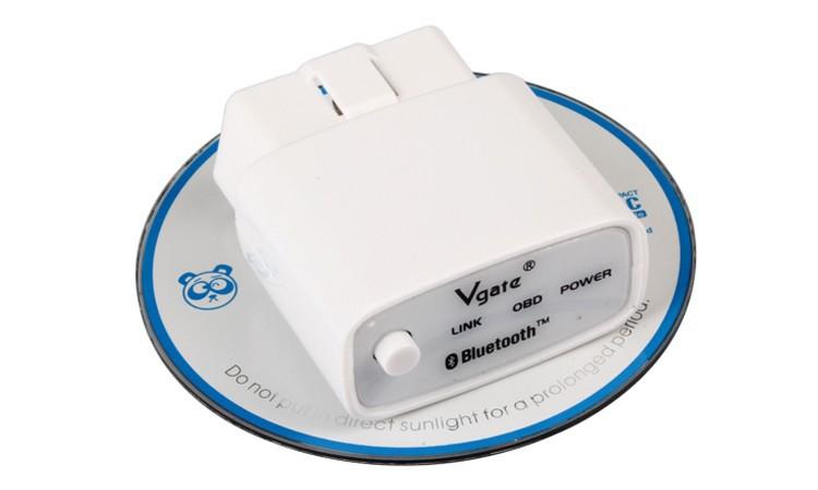 Диагностические кабели и разъемы для авто и мото 100% Original Vgate iCar ELM 327 Bluetooth high-quality automotive scanning tool ELM327 Car Diagnostic Cable