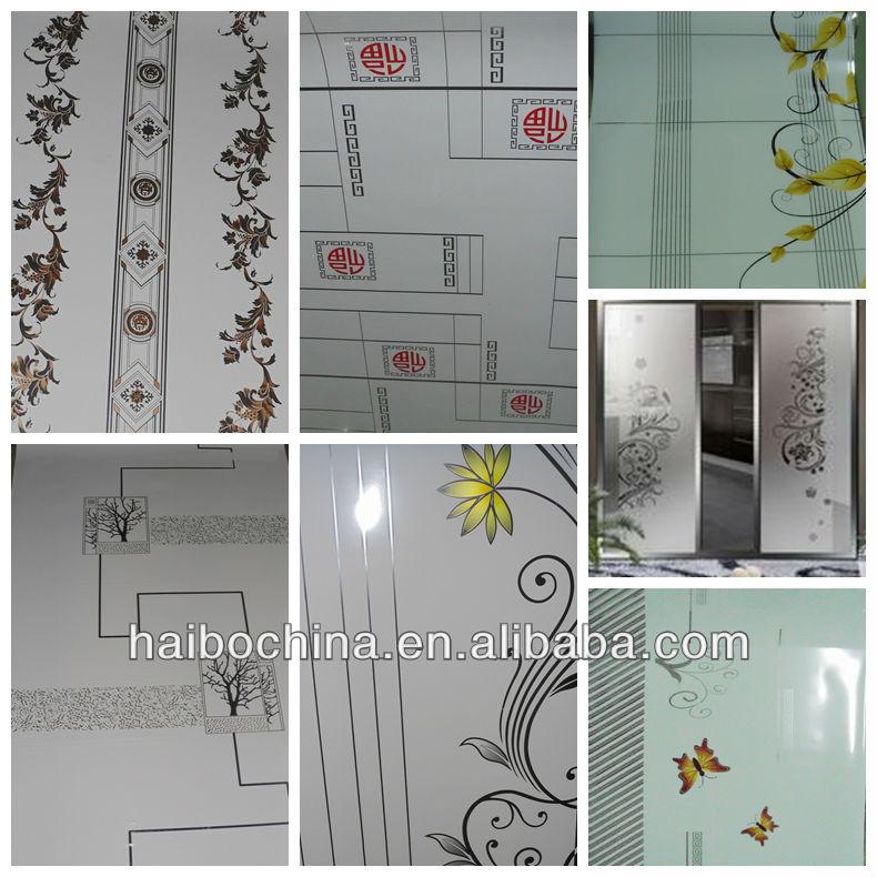 Decorativas de moda pel cula para el vidrio de la puerta y - Papel para vidrios ...