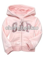 Кофта для девочки Girl Kids Baby Hoodied Jacket Pink Snowsuit Hooded Overcoat Coat Halloween Christmas 12pcs