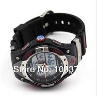 Наручные часы High Quality Fashion NEW Water-proof Dual Time Children Boys Girls Sport Watch