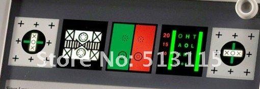 Óptica instuments NV-100 perto visão cartão de teste