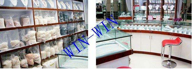 HOT PROMOTION!!! FREE SHIPPING 150cm Long Pearl Costume Jewelry, 7-8mm Size, Potato Shape+Free Shipping