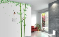 wall sticker,Wall paster/room sticker/house decorative sticker,wall poster.bamboo style,background tree Free Shipping,Z067