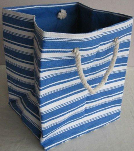 Продолговатые бумага джут сумка для грязного белья