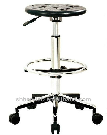 Swivel Adjustable Height Lab Stool