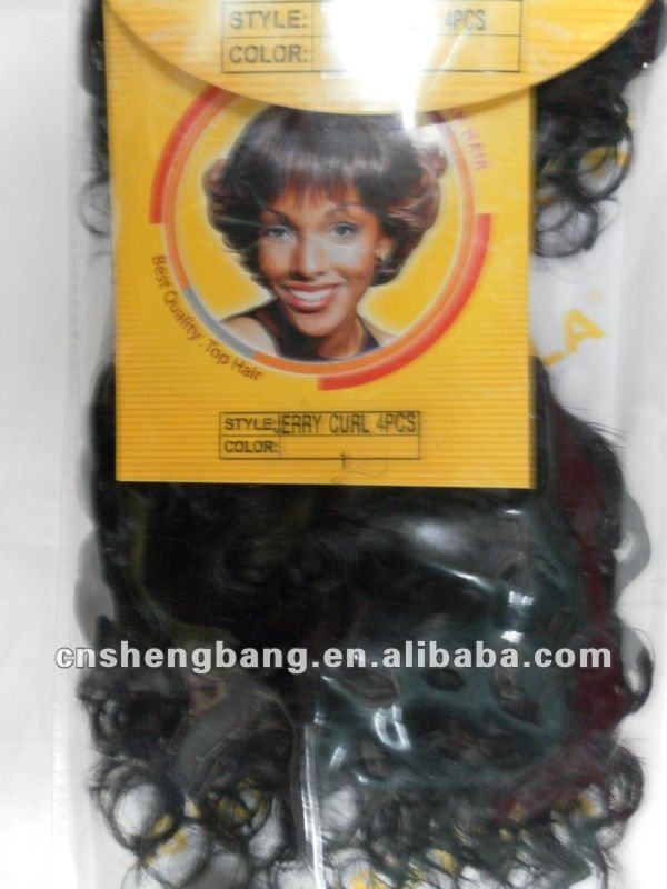 Miss Rola Jerry Curl wave afro-hair synthetic hair,black short hair rola