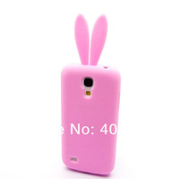 Потребительские товары Lovely Cute Bunny TPU Skin Rabbit Soft Back Case Cover for SAMSUNG GALAXY S4