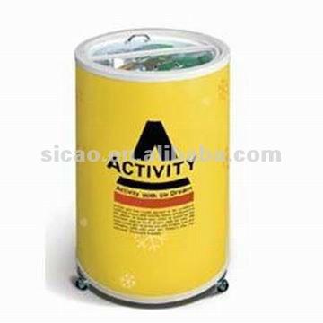 40l electric drink cooler for kinds of beverage beer sales promotion