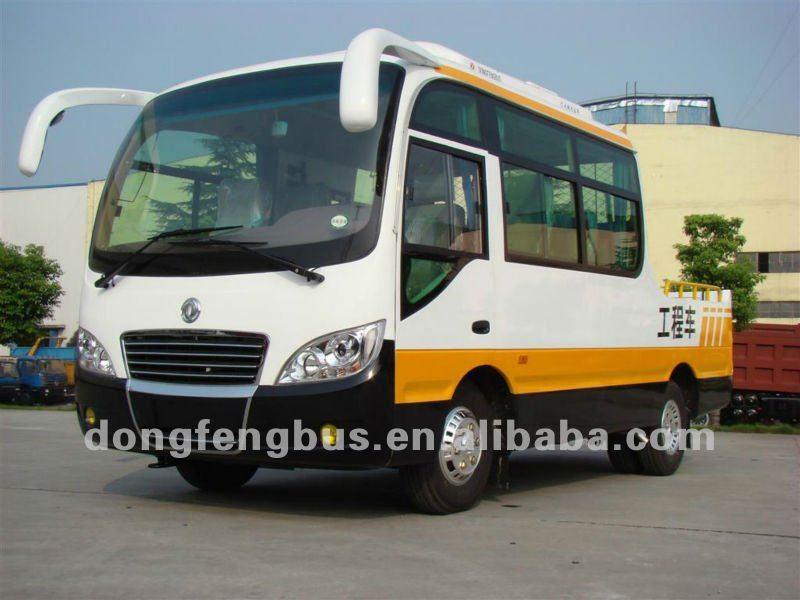 engineering van off-road bus