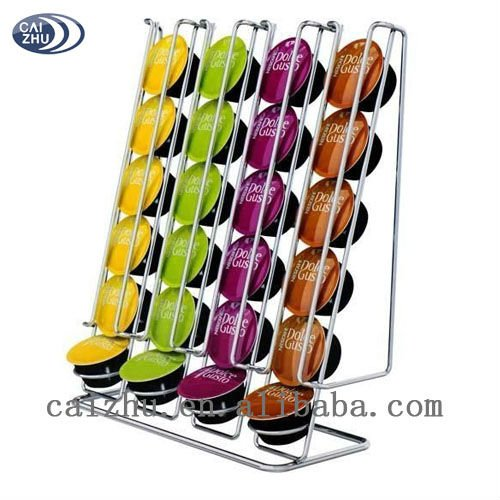 Wall mounted rotating coffee capsule holder view dolce gusto coffee capsule - Range capsule dolce gusto ...