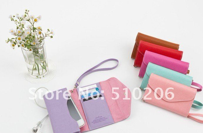 New Arrival Korea ARDIUM Smart fold Multi Pouch for iPhone 4g 4s watch shoes case for htc fishing bags wallet leather handbag