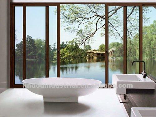 GuangZhou Top Sale Casement Window With Shutter