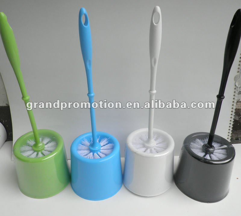 2012 plastic new style pp toilet bowl brush with holder 06988