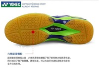 Мужская обувь 2013 new style Sports caliga 01Blue Green men and women's Badminton shoes . EUR size : 36 - 45