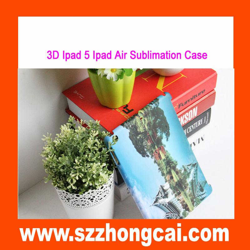 cheap 3d plastic sublimation cases for ipad 2 Mini