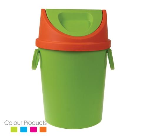 plastic wastebin