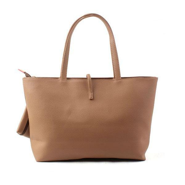 Sweety candy coulor korean hobo pu leather handbag