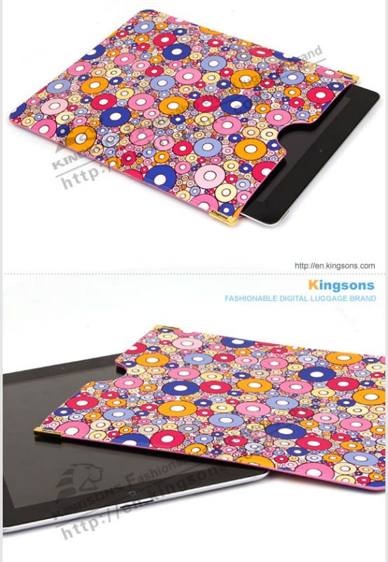 China famous brand Kingsons PU Case for New Mini Ipad