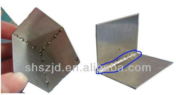 Metal parts seam welder metal crack cold welding - Soldadura en frio ...
