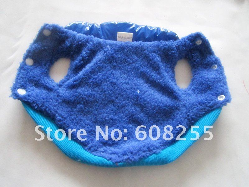 Crazy Promotion!!! Free shipping!!!wholesale blue/red pet coat , pet clothing, pet jacket, dog cotton-padded coat