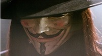 Маска для вечеринок 2012 Hot Sale V for Vendetta Anonymous Guy Fawkes Mask Masquerade Licensed Props
