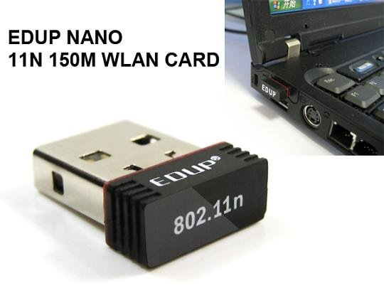 EDUP Wireless Lan Card 11N Lan Adapter Wireless USB Adapter Wireless USB Card WIFI Adapter NANO Card